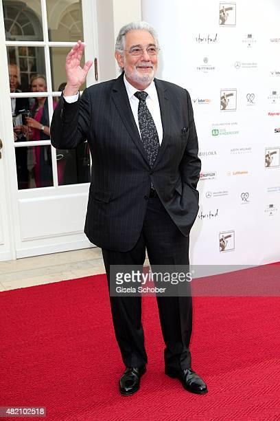 Opera singer Placido Domingo during the 'Die Goldene Deutschland' Gala on July 26 2015 at Cuvillies Theater in Munich Germany