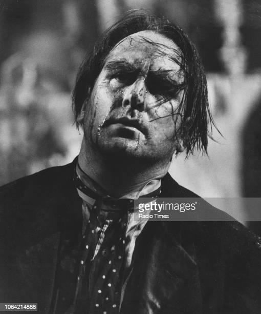 Opera singer Raimund Herincx in a scene from the opera 'Purgatory' June 29th 1966