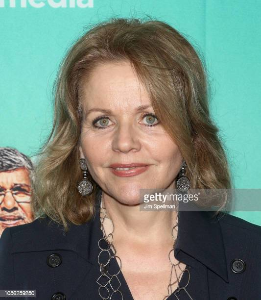 Opera singer Renee Fleming attends the screening for The Price of Free hosted by YouTube and Participant Media with The Cinema Society at Museum of...