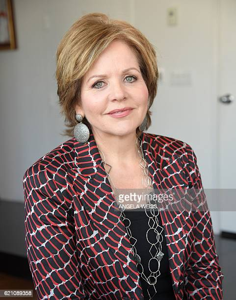 Opera singer Renee Fleming poses as she practices for an upcoming premiere at her apartment in New York City on November 2 2016 Tired of an opera...