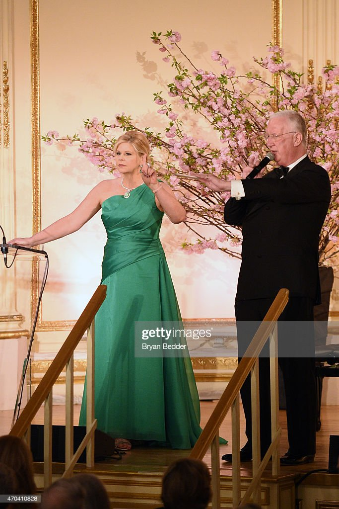 Opera singer Susan Graham speaks ontage at the 10th Annual Opera News Awards at The Plaza Hotel on April 19, 2015 in New York City.