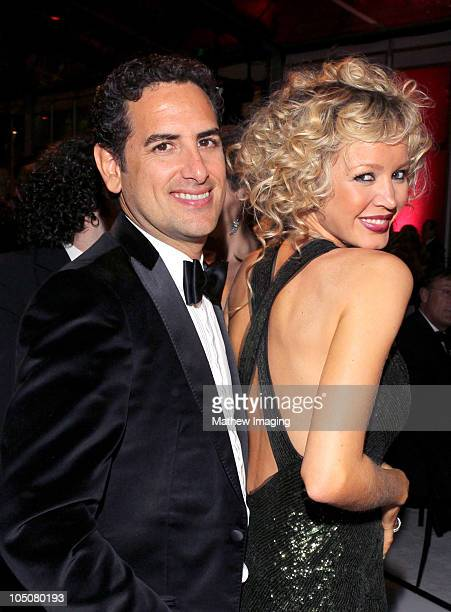 Opera tenor Juan Diego Flórez and his wife Julia Trappe attend the Los Angeles Philharmonic Opening Night Gala at the Walt Disney Concert Hall on...