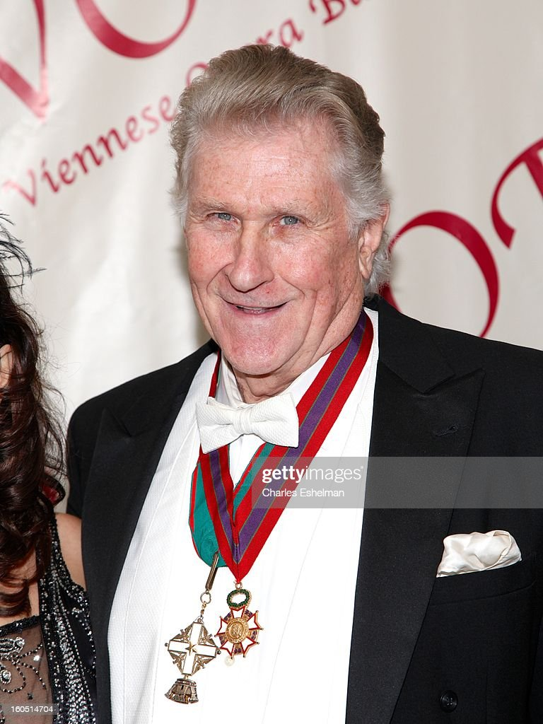 Operatic baritone Sherill Milnes attends The 58th Annual Viennese Opera Ball at The Waldorf=Astoria on February 1, 2013 in New York City.