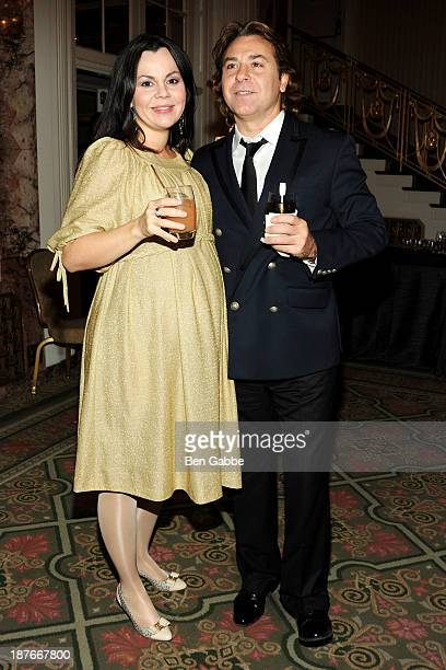 Operatic soprano Aleksandra Kurzak and tenor Roberto Alagna attend the Metropolitan Opera Guild's 79th annual luncheon at the Grand Ballroom at The...