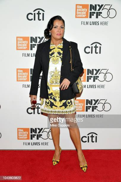 Operatic soprano Anna Netrebko attends the 56th New York Film Festival Maria by Callas at Alice Tully Hall Lincoln Center on September 30 2018 in New...