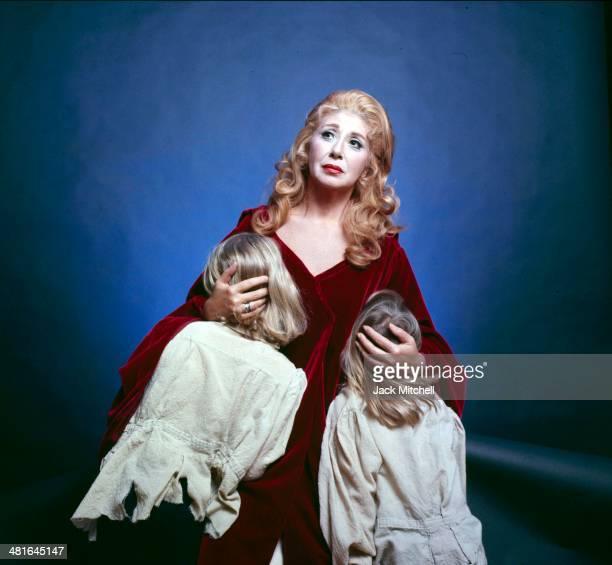 Operatic soprano Beverly Sills in costume starring in Bellini's Norma in 1974
