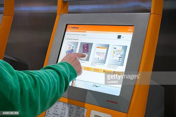 Funzionamento di Lufthansa per il check-in elettronico Biglietteria
