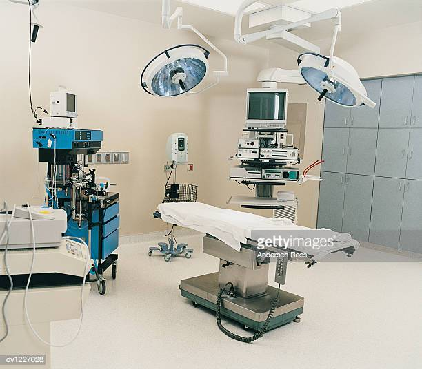 Operating Room Containing Medical Technical Equipment
