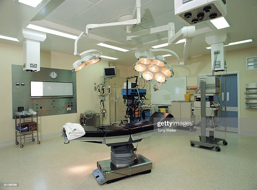 Operating room in hospital : Stock Photo