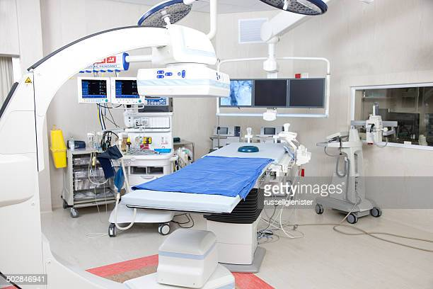 Operating room with robotic imaging system