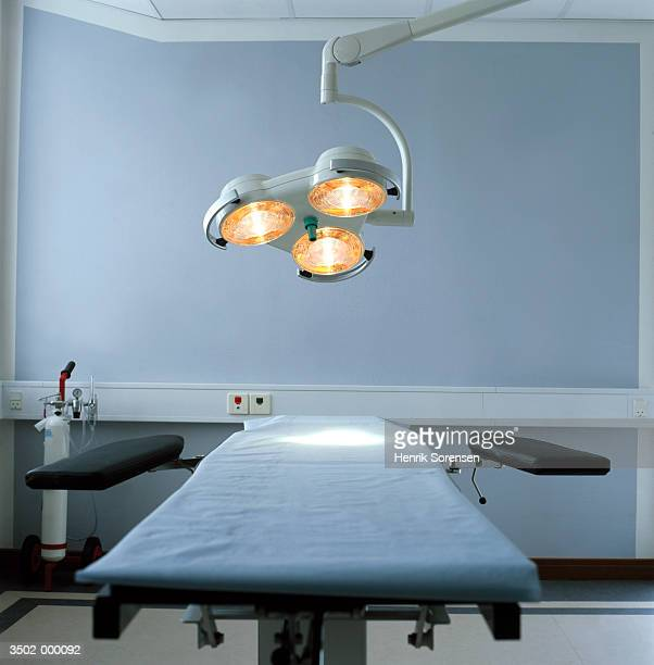 Operating Table and Lamps