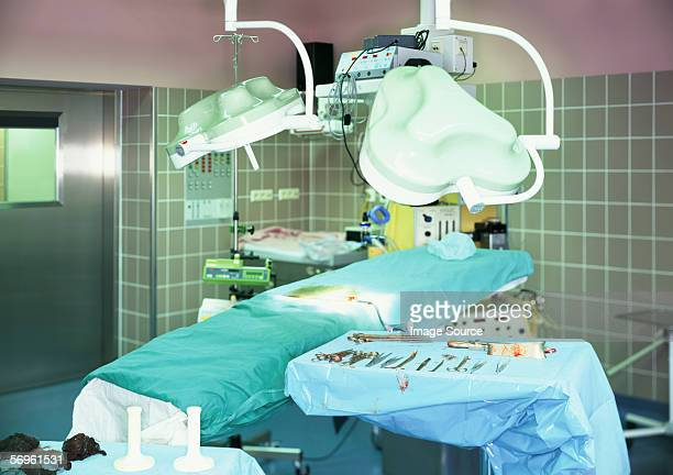 Operating theatre in hospital
