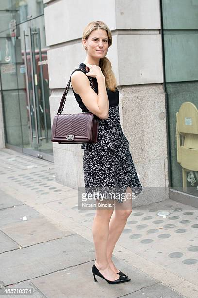 Operating Vice President Fashion Director Women's ReadyToWear at Bloomingdales Brooke Jaffe is wearing Dior shoes and earrings Proenza Schouler dress...