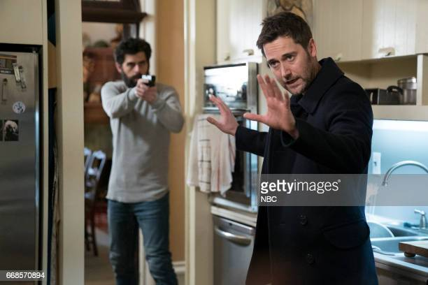 REDEMPTION 'Operation Davenport' Episode 104 Pictured Afrim Gjonbalaj as Zidane Ryan Eggold as Tom Keen