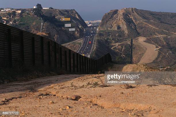 Operation Gate Keeper a largescale federal effort to close the passages between San Diego and Tijuana | Location Border of Tijuana Mexico and San...