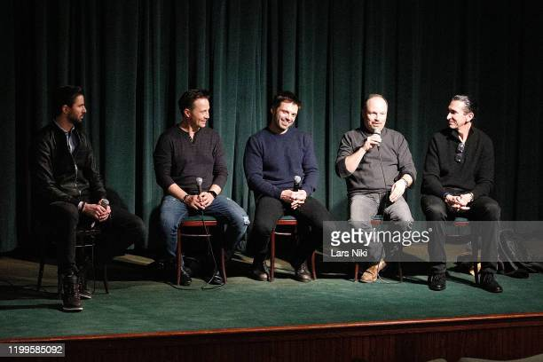 Operation Heal Our Heroes CEO and co-founder Everett Weston, actor Travis Aaron Wade, actor Sebastian Stan, writer and director Todd Robinson and...