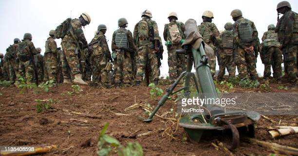 Operation Indian Ocean was headed by the Ugandan contingent of AMISOM to retake the town of Kurtonwarey in Lower Shabelle. Ugandan troops gathering...