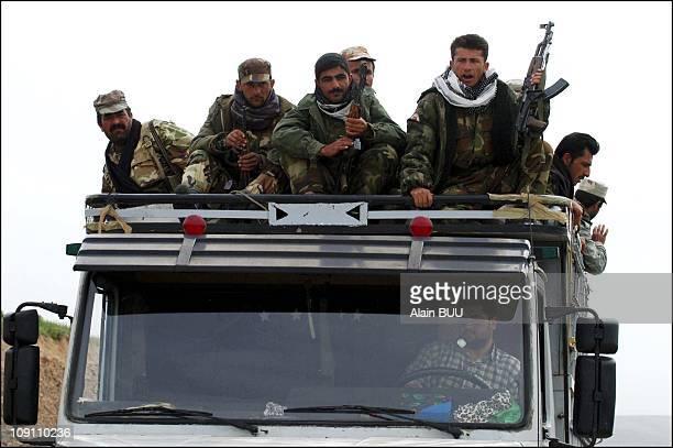 Operation Iraqi Freedom: Kurds Seize Key Bridge In Northern Iraq. On April 4, 2003 In Khazer, Iraq. Kurdish Forces Seized A Key Bridge At Khazer Near...