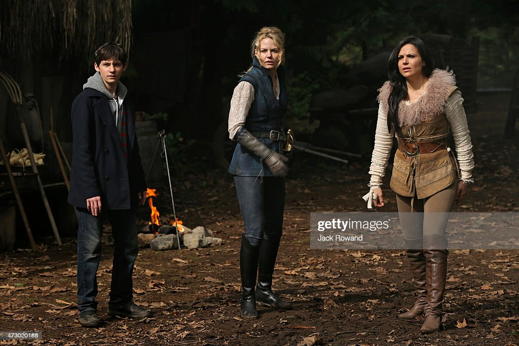 TIME - 'Operation Mongoose, Part 1 and Part 2' - The Author proves to be a formidable wild card and forges an alliance with Gold. Emma, her parents, Hook and Regina scramble to stop them, but when Gold and the Author turn the tables on heroes and villains alike, the prospect of any happy outcome appears worlds away. Henry discovers he has big shoes to fill as he steps up to save his family before the story's final page is turned. It's a race to the finish, and everything culminates with a shocking twist that will leave the residents of Storybrooke reeling, in the captivating two-part season finale of 'Once Upon a Time,' SUNDAY, MAY 10 (8:00-10:01 p.m., ET) on the ABC Television Network.