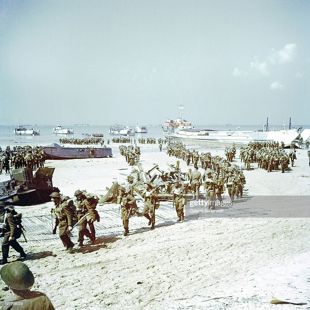 Operation Overlord Normandy : News Photo