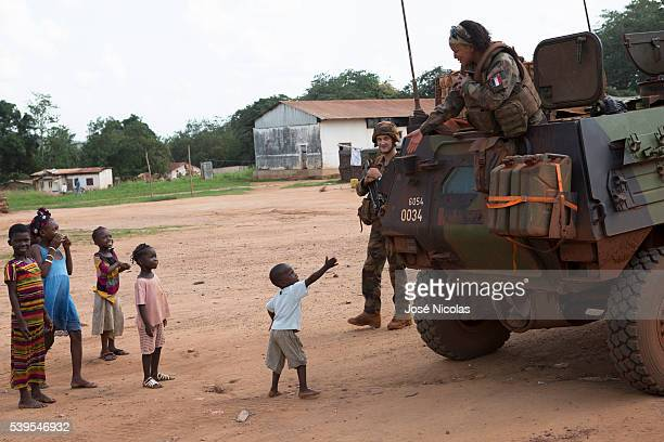 Operation Sangaris is a military intervention of the French military in the Central African Republic ongoing since the 5th of December 2013 1st Spahi...