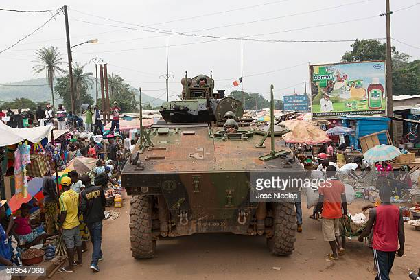 Operation Sangaris is a military intervention of the French military in the Central African Republic ongoing since the 5th of December 2013 2nd...