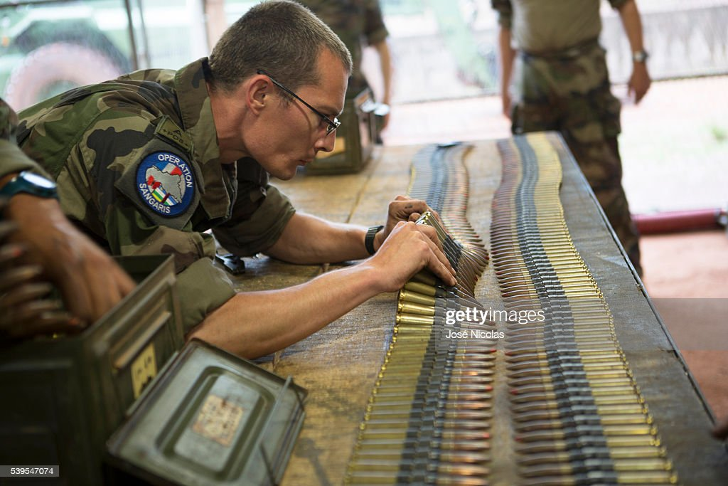 Operation Sangaris in the Central African Republic : News Photo