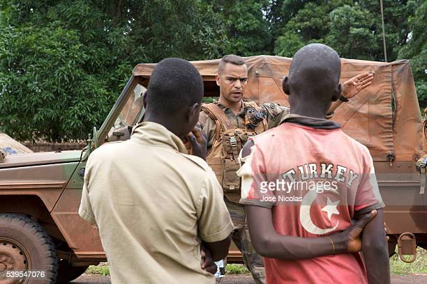 Operation Sangaris is a military intervention of the French military in the Central African Republic ongoing since the 5th of December 2013 Officer...