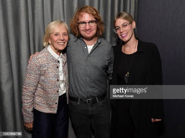 Operation Smile cofounder Kathleen Magee musician Drew Brown and Eden Cohen attend the Operation Smile Screening Of ENOK Hosted By DJ Connor Bvrns on...