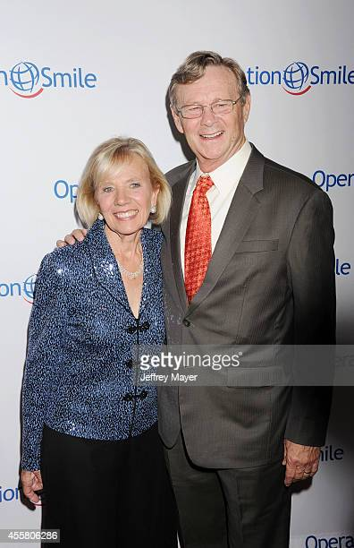 Operation Smile Co-founders Dr. Bill Magee and Kathy Magee attend the 2014 Operation Smile Gala at the Beverly Wilshire Four Seasons Hotel on...