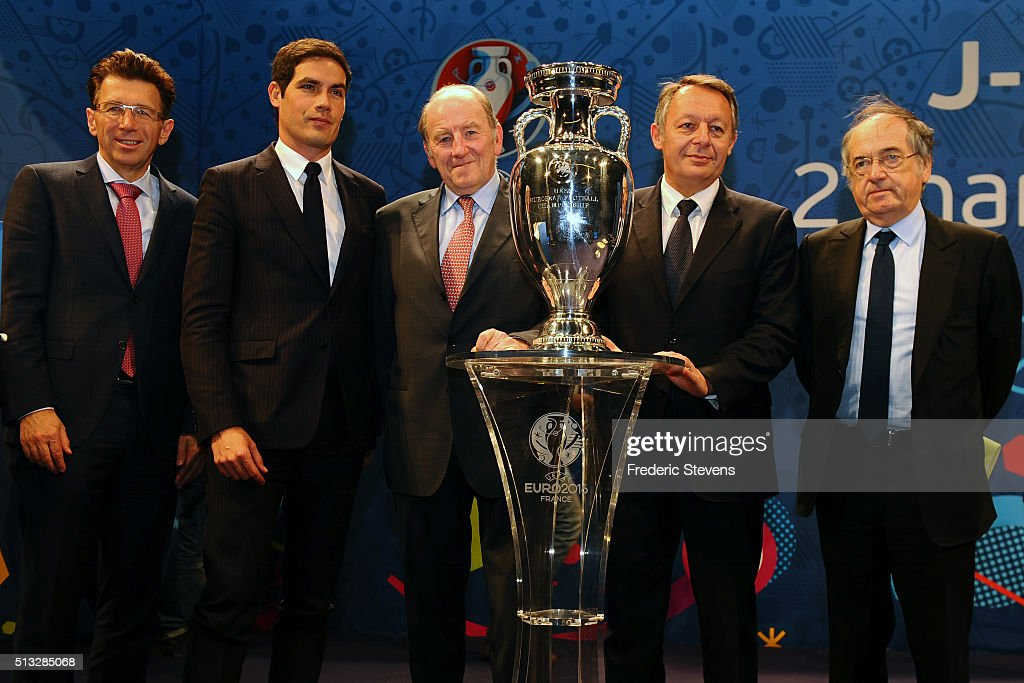 Press Conference 100 Days Prior The UEFA EURO 2016