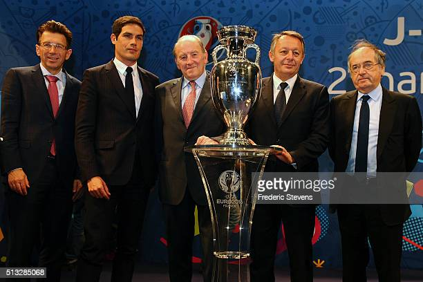 Operations Director at UEFA Events SA Martin Kallen President and CEO of Radio France Radio official UEFA EURO 2016 Mathieu Gallet Chairman of EURO...