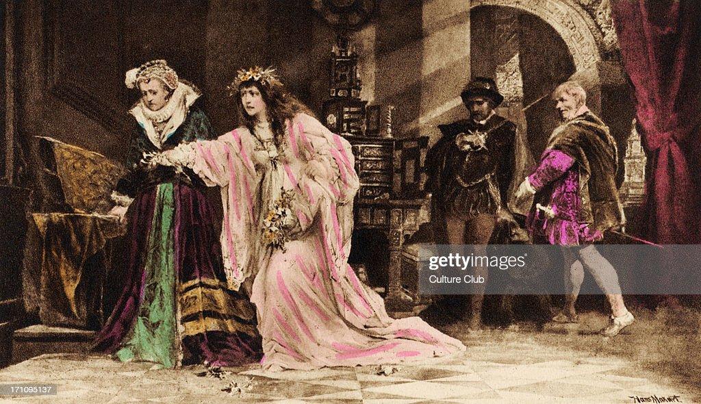 Ophelia Shakespeare: Ophelia In William Shakespeare 's ' Hamlet '
