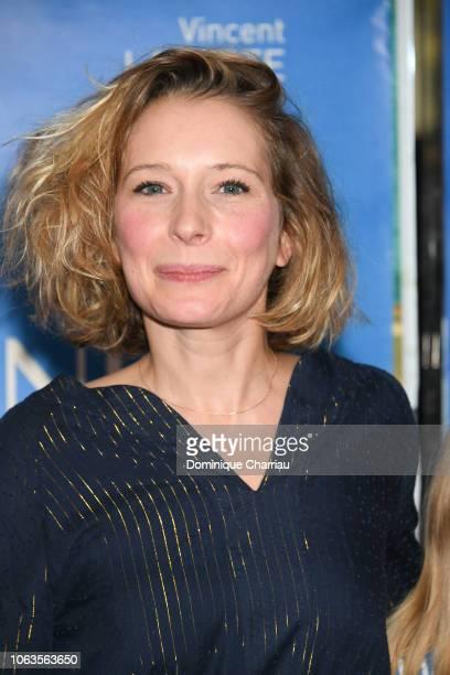 Ophelia Kolb attends Amanda Paris Premiere at UGC Cine Cite des Halles on November 19 2018 in Paris France