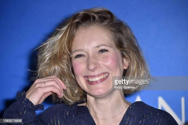 Ophelia Kolb attends 'Amanda' Paris Premiere at UGC Cine Cite des Halles on November 19 2018 in Paris France