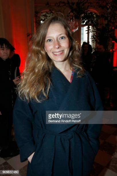 Ophelia Kolb attends the Franck Sorbier Haute Couture Spring Summer 2018 show as part of Paris Fashion Week on January 24, 2018 in Paris, France.