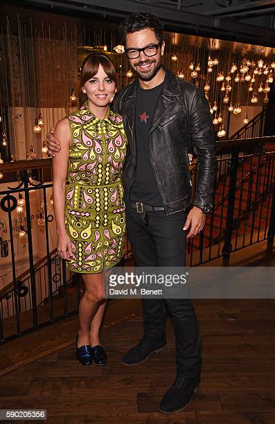 Ophelia Lovibond and Dominic Cooper attend a Royal Court Theatre 60th anniversary film screening of The Libertine at the Picturehouse Central on...