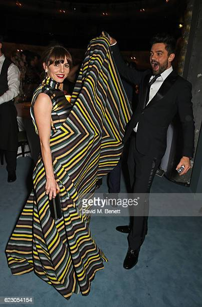 Ophelia Lovibond and Dominic Cooper attend The 62nd London Evening Standard Theatre Awards after party recognising excellence from across the world...