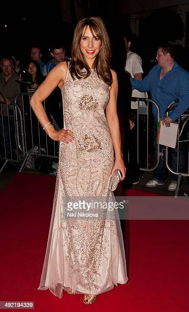 Ophelia Lovibond arrives at the Arqiva British Academy Television Awards after party held at the Grosvenor house Park Lane on May 18 2014 in London...