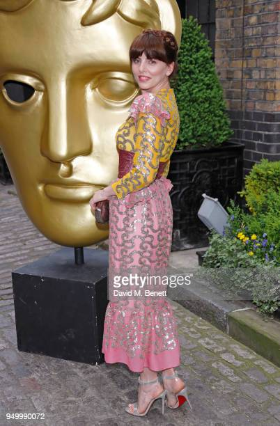 Ophelia Lovibond arrives at the British Academy Television Craft Awards held at The Brewery on April 22 2018 in London England