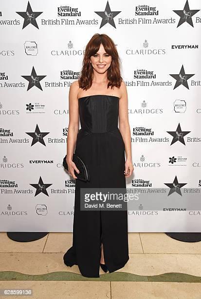 Ophelia Lovibond arrives at The London Evening Standard British Film Awards at Claridge's Hotel on December 8 2016 in London England