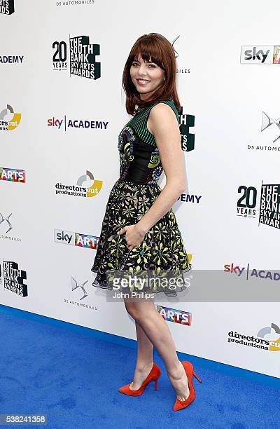 Ophelia Lovibond arrives for the The South Bank Sky Arts Awards at The Savoy Hotel on June 5 2016 in London England