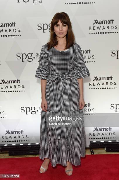 Ophelia Lovibond attends as Marriott International celebrates world-class loyalty programme with event including exclusive performance from...