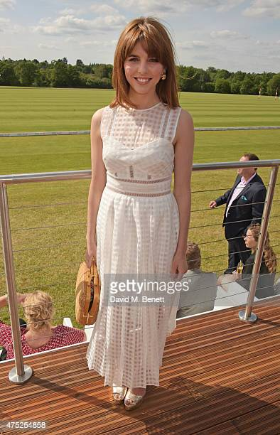 Ophelia Lovibond attends day one of the Audi Polo Challenge at Coworth Park on May 30 2015 in London England