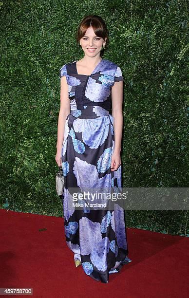 Ophelia Lovibond attends the 60th London Evening Standard Theatre Awards at London Palladium on November 30 2014 in London England