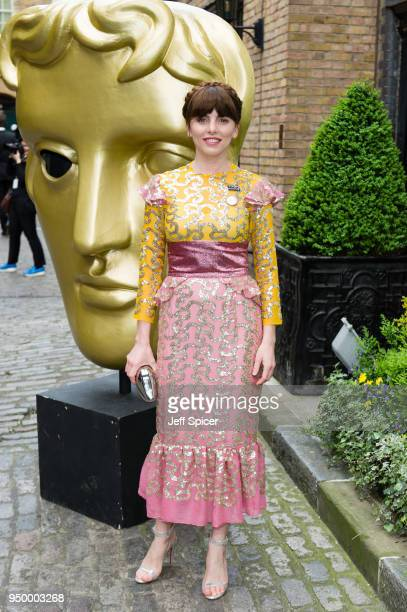 Ophelia Lovibond attends the BAFTA TV Awards held at The Brewery on April 22 2018 in London England