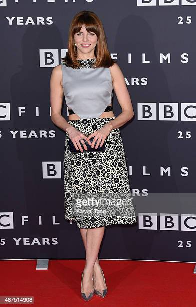 Ophelia Lovibond attends the BBC Films' 25th Anniversary Reception at BBC Broadcasting House on March 25 2015 in London England