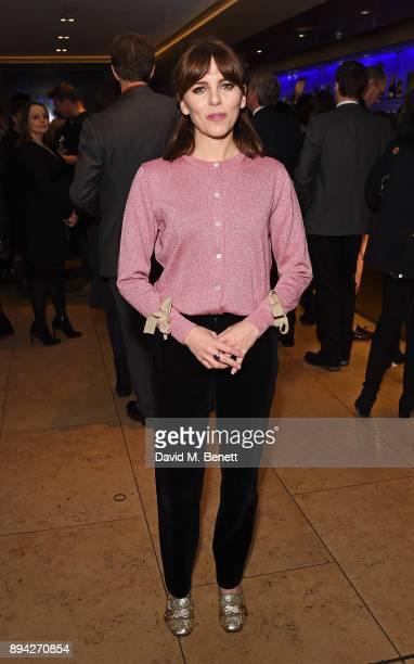 Ophelia Lovibond attends the evening Gala Performance of Matthew Bourne's Cinderella at Sadler's Wells Theatre on December 17 2017 in London England