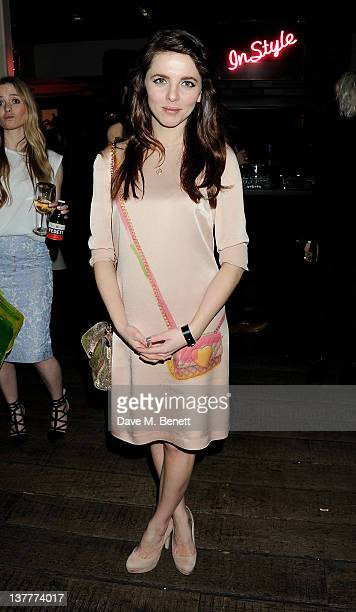 Ophelia Lovibond attends the InStyle Best of British Talent party in association with Lancome and Charles Worthington at Shoreditch House on January...