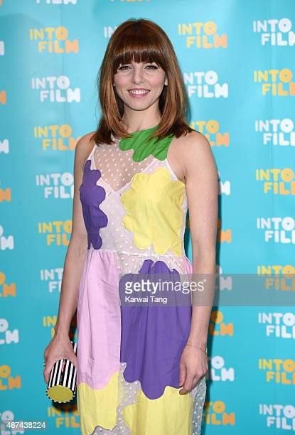 Ophelia Lovibond attends the 'Into Film Awards' at The Empire Cinema on March 24 2015 in London England